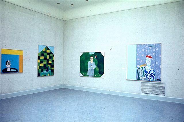 Reinier Lucassen : Schilderijen 1973-1976