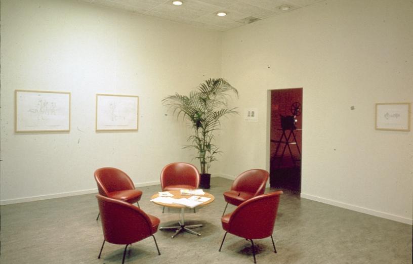 Mark Manders : Zesde in een serie van zes kleinere presentaties Nederlandse kunstenaars