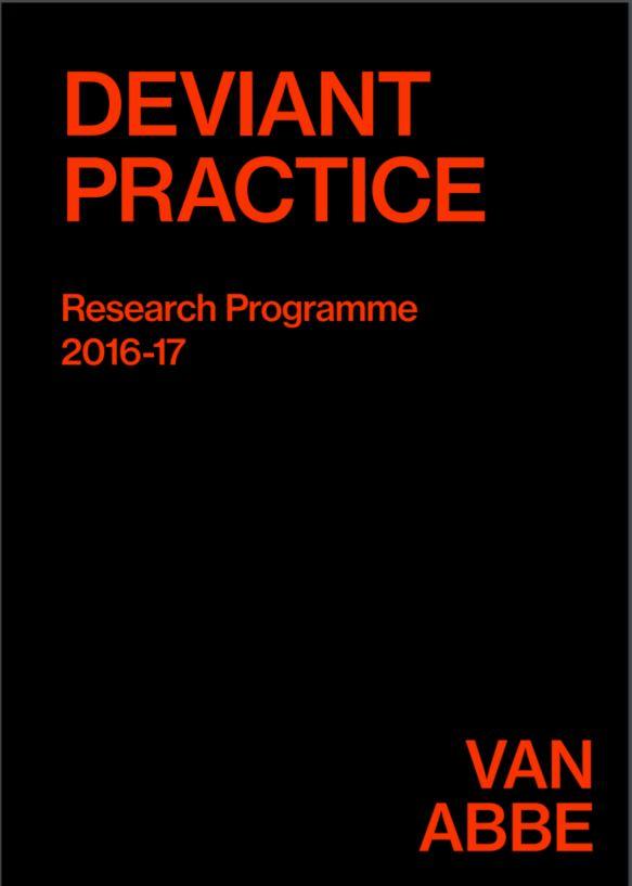 Deviant Practice Research Programme 2016-17