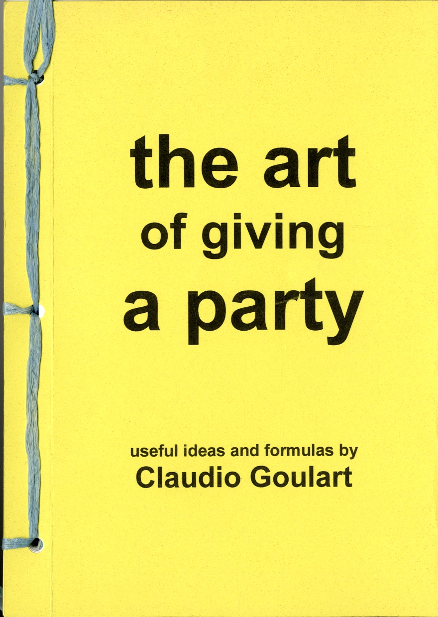 The art of giving a party