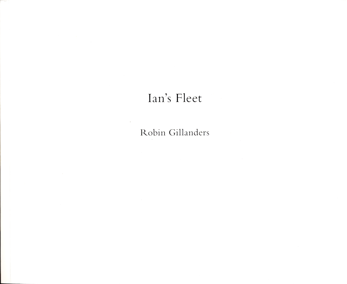 Robin Gillanders