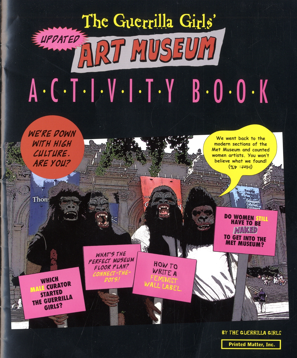 The Guerrilla Girls' Art Museum Activity Book