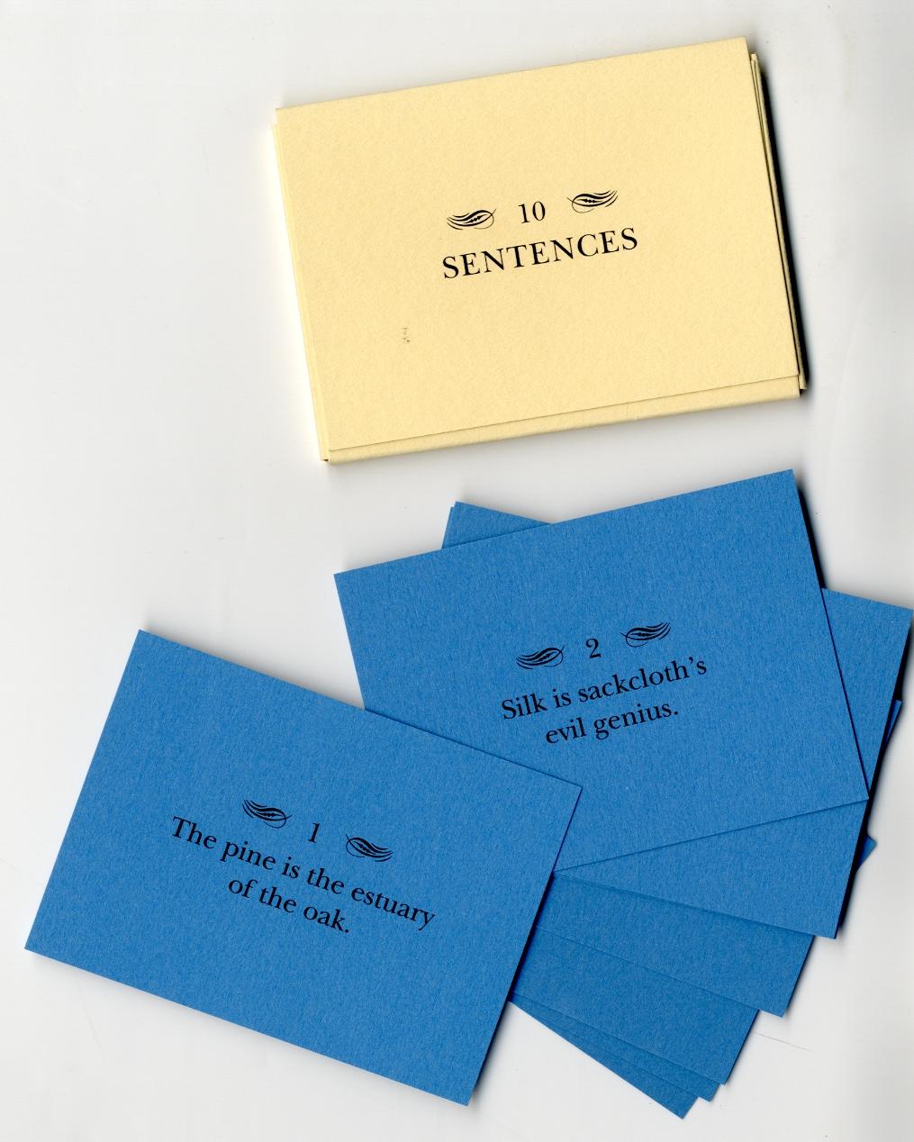 10 Sentences