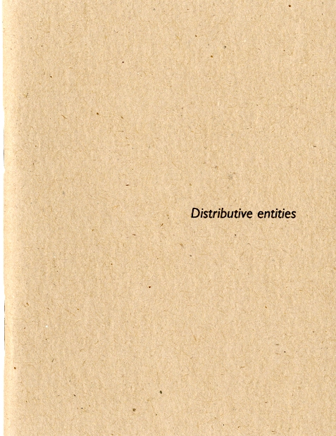 Distributive entities