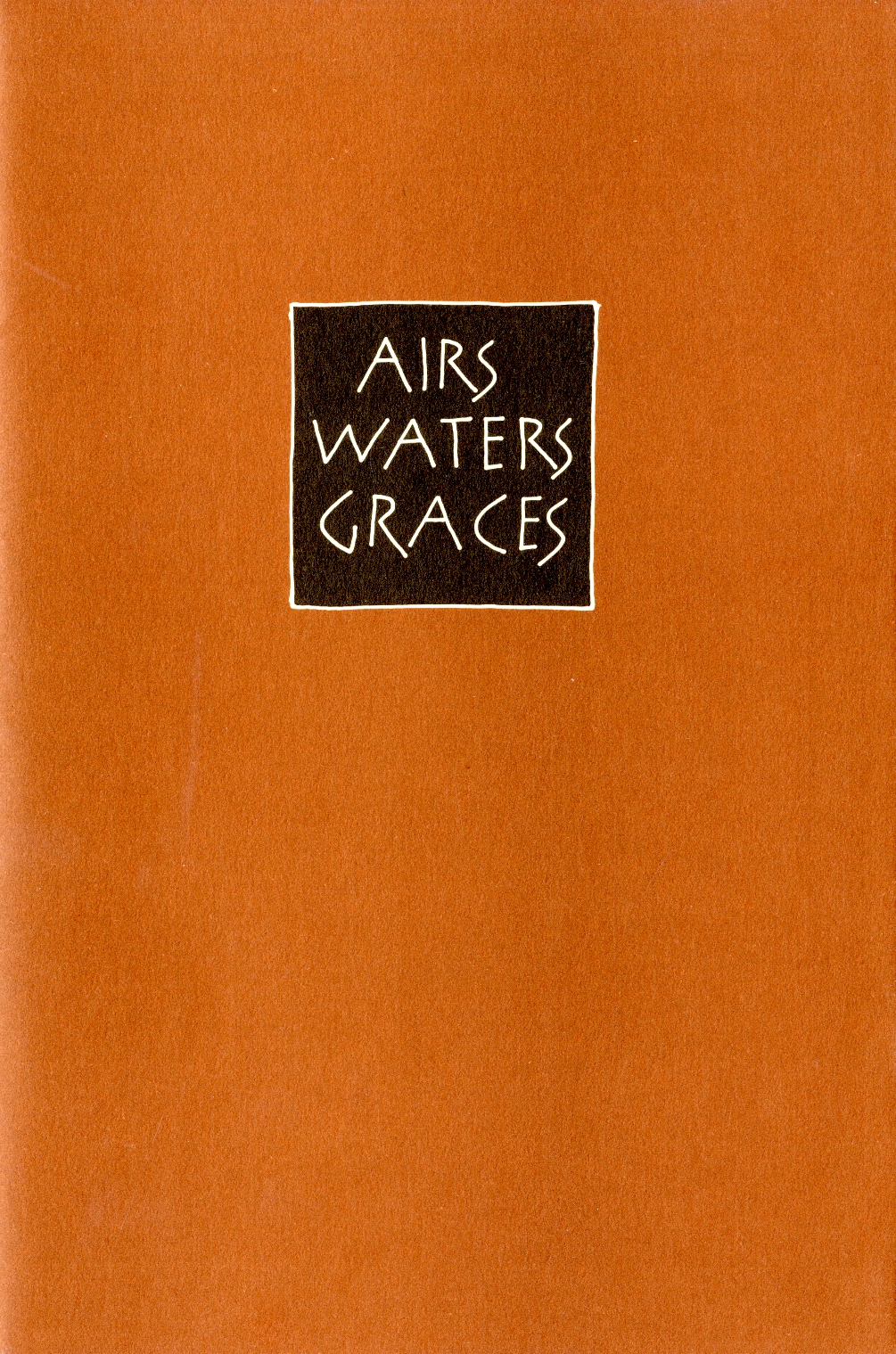 Airs Waters Graces