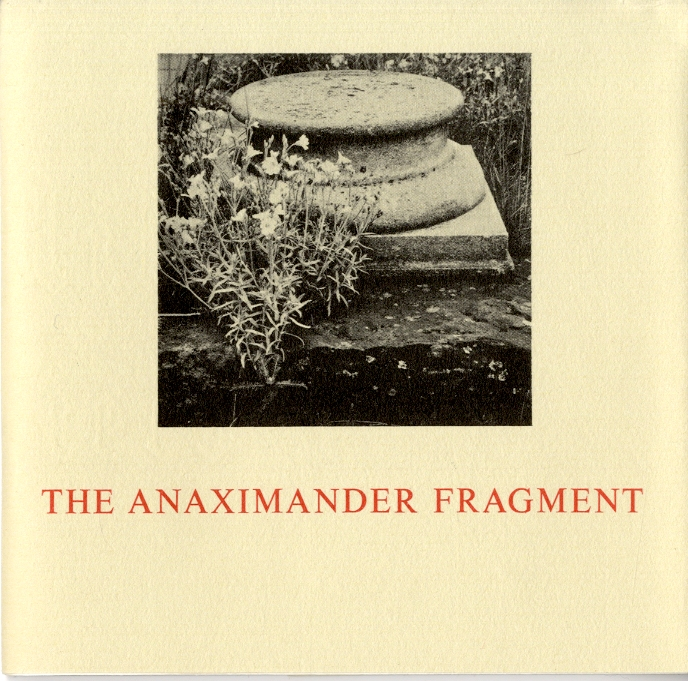 The Anaximander fragment