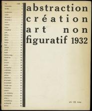 Abstraction création art non figuratif 1932-1936