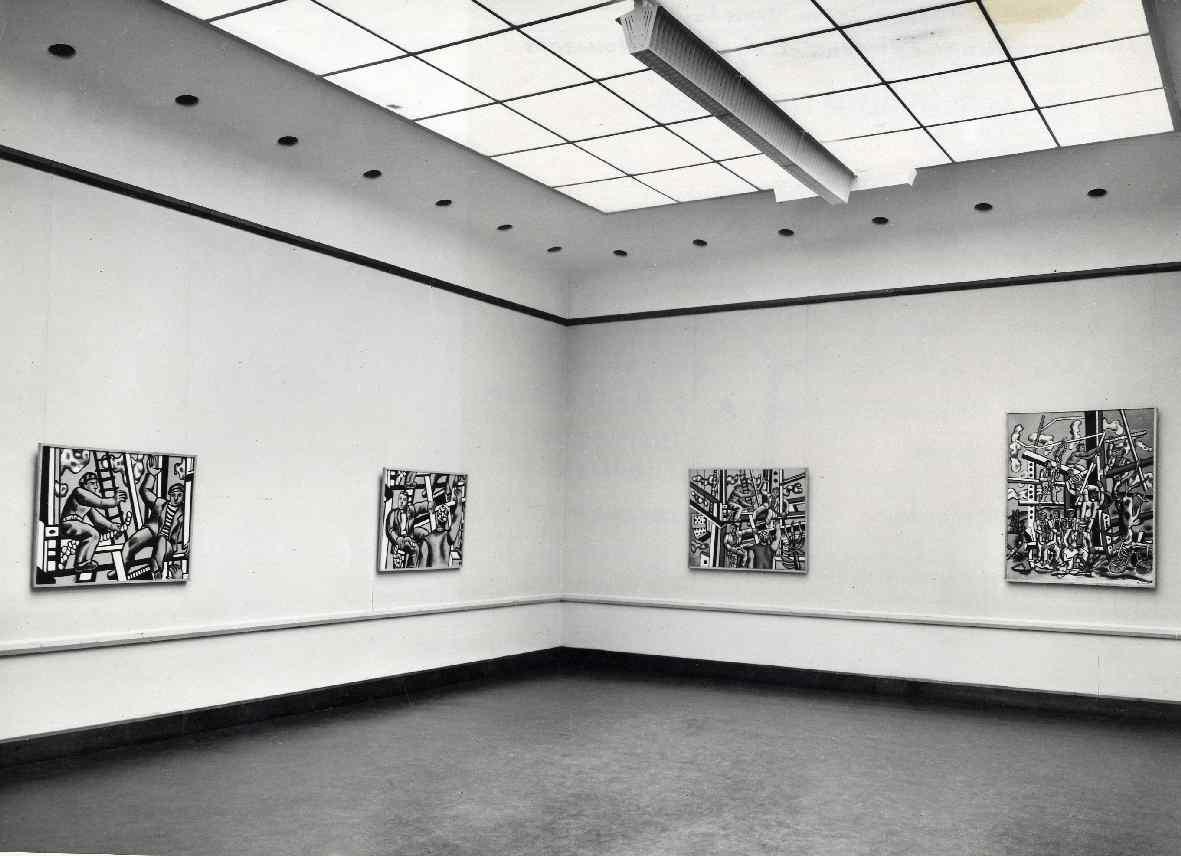 Fernand Léger : De bouwers