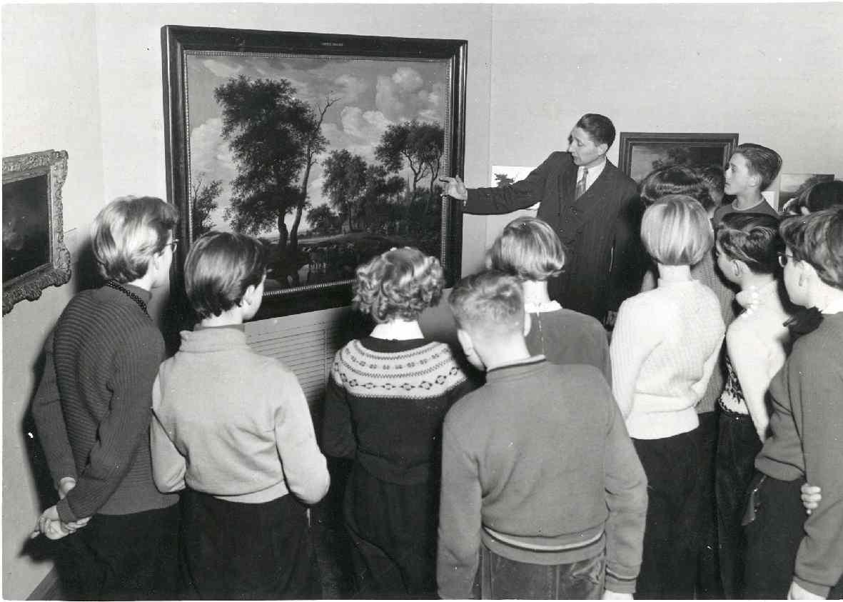 Hoe het landschap werd geschilderd : Tentoonstelling voor scholieren