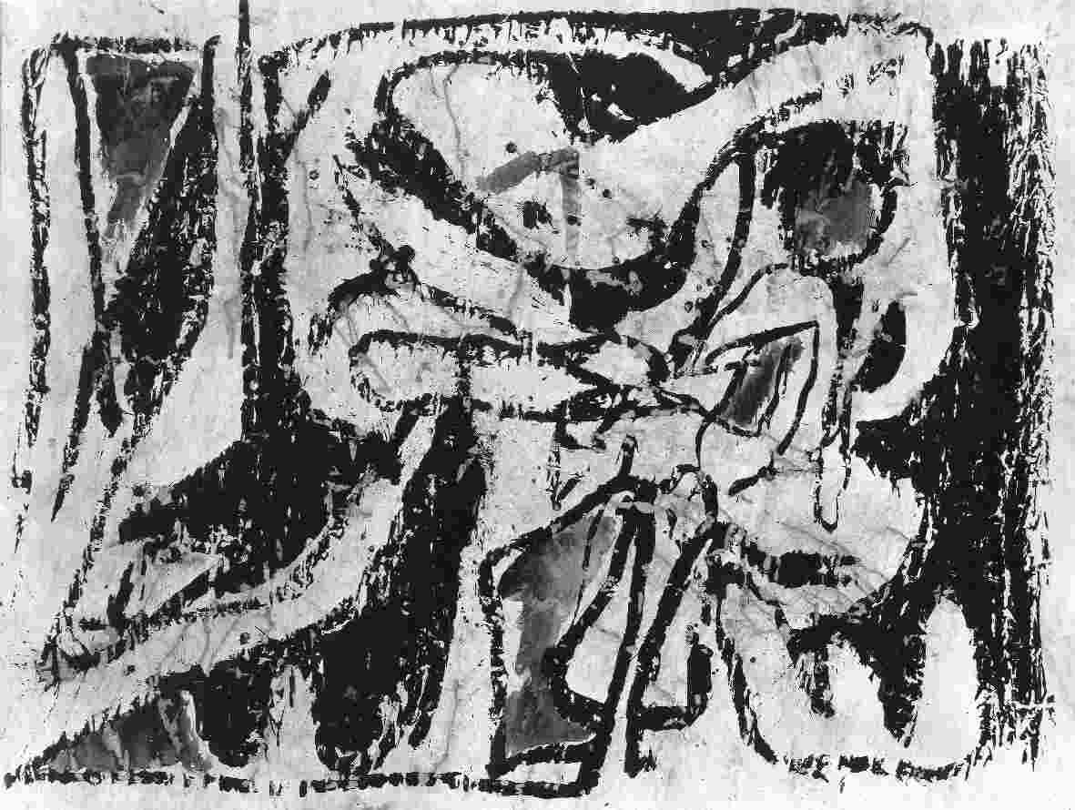Pierre Alechinsky : Schilderijen 1959-1962