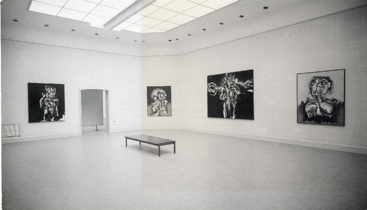 Antonio Saura : Schilderijen en tekeningen