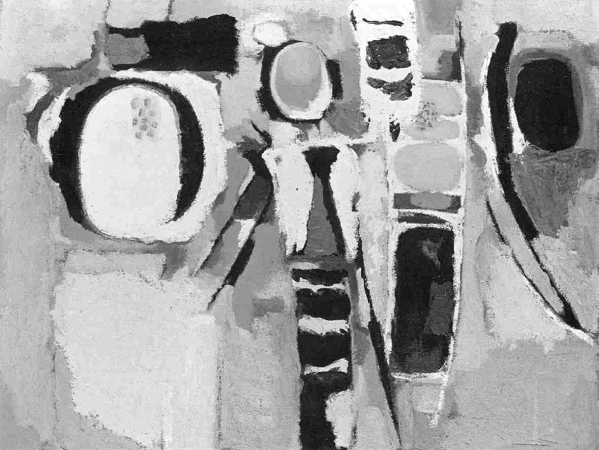 Pieter Ouborg : Schilderijen, gouaches en tekeningen