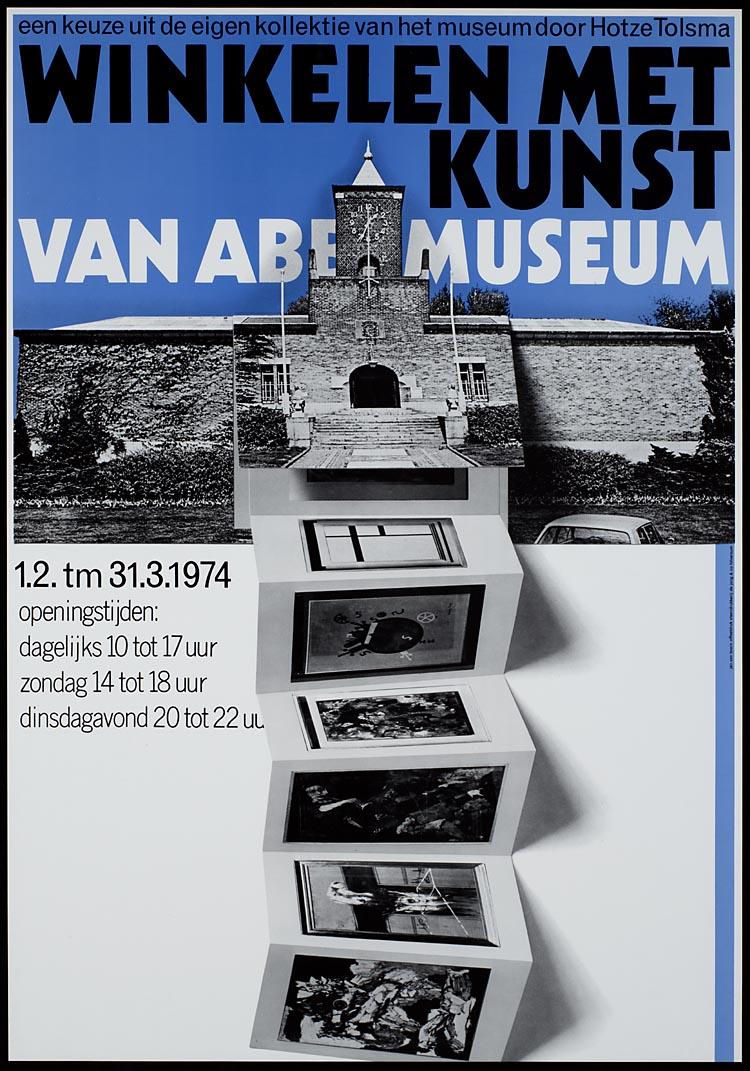 Winkelen met kunst : Een manifestatie van het Van Abbemuseum in samenwerking met het 'Eindhovens koopcentrum'