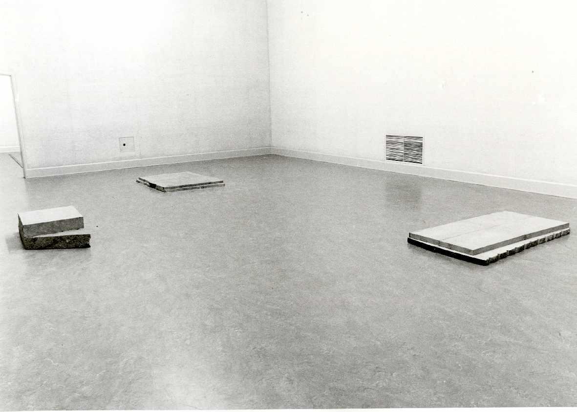 Ulrich Rückriem : Sculpturen