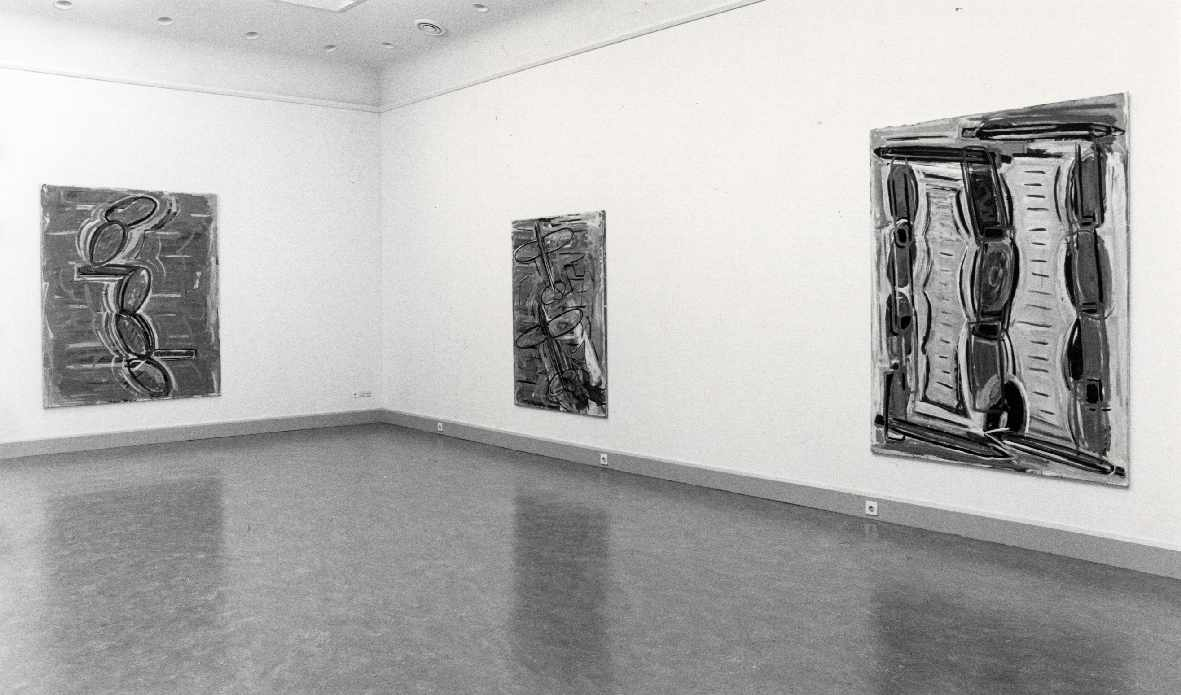 René Daniëls : Schilderijen, gouaches en tekeningen