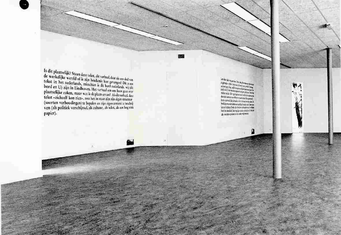 Joseph Kosuth : Tekst/Kontekst
