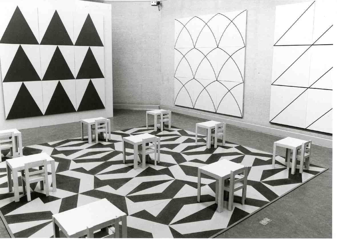 Paul Panhuysen : Schilderijen, situaties, ordeningssystemen, omgevingsontwerpen