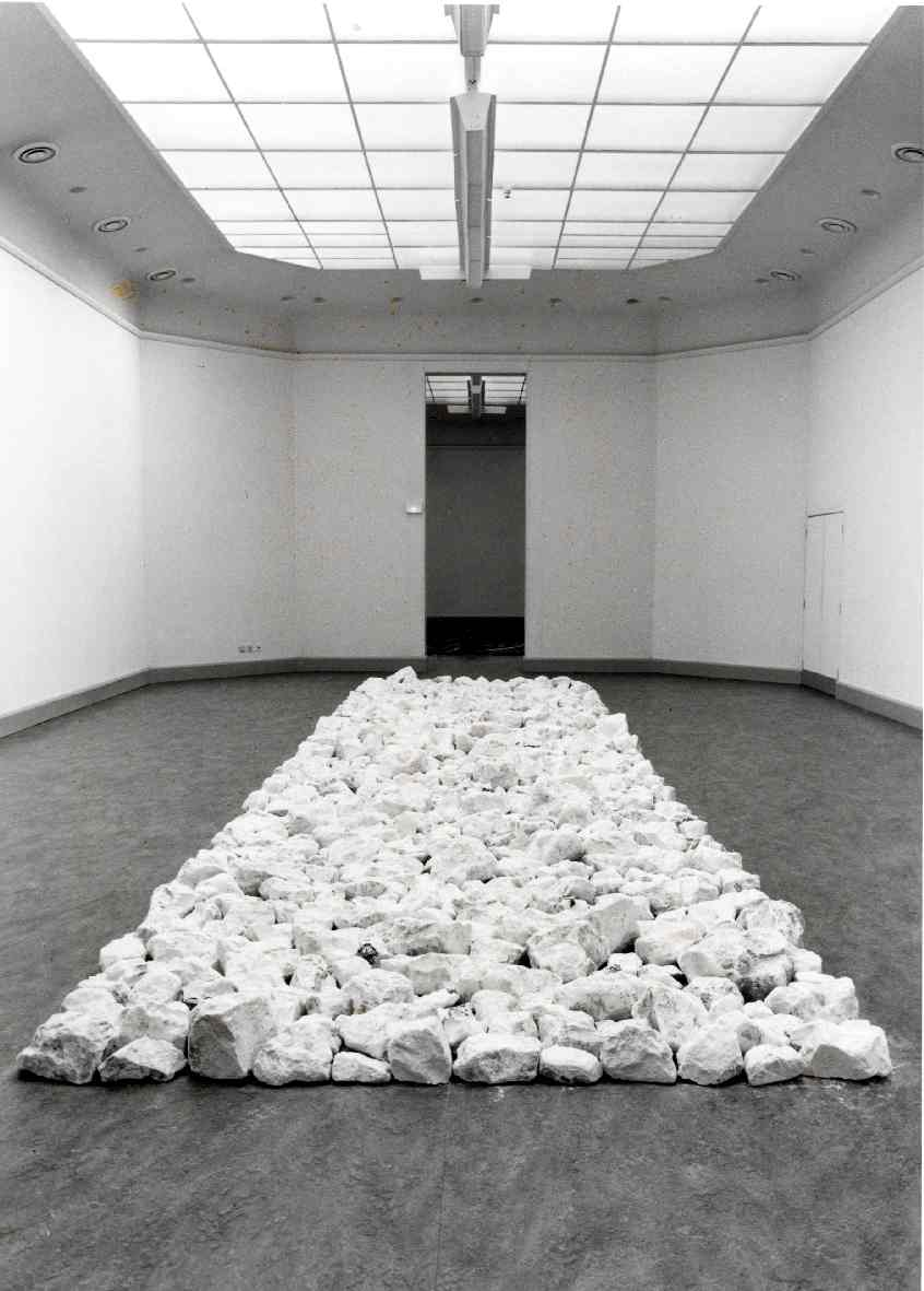 Richard Long : Sculpturen en fotowerken