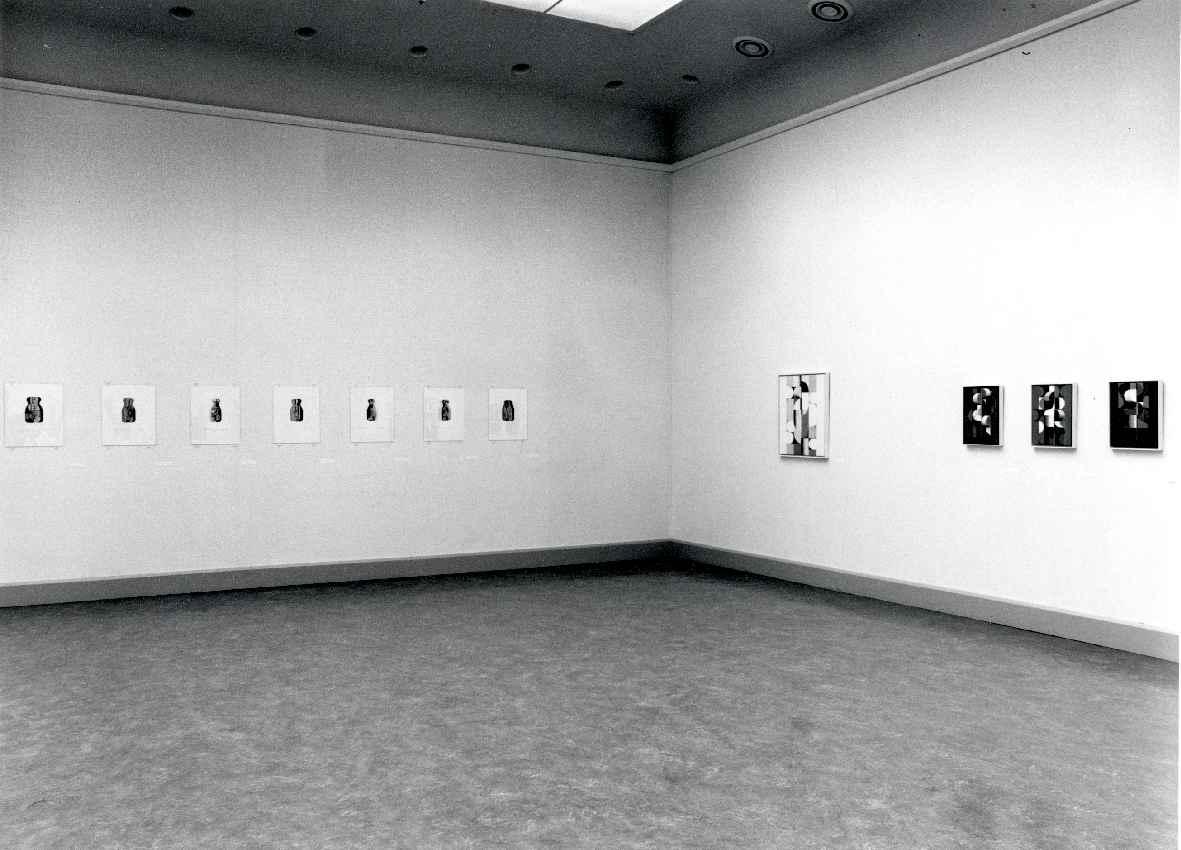 Gisela Andersch : Schilderijen, tekeningen en collages