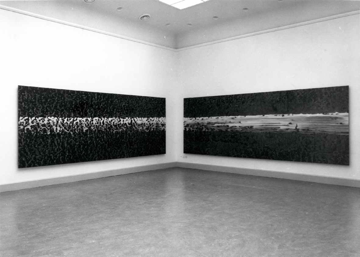 Gerhard Richter : Zwei Gelbe Striche