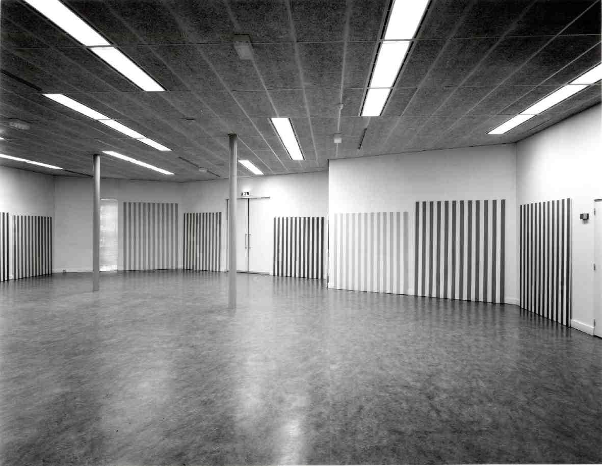 Daniel Buren : 18 werken (peinture tableau) 1965-1981