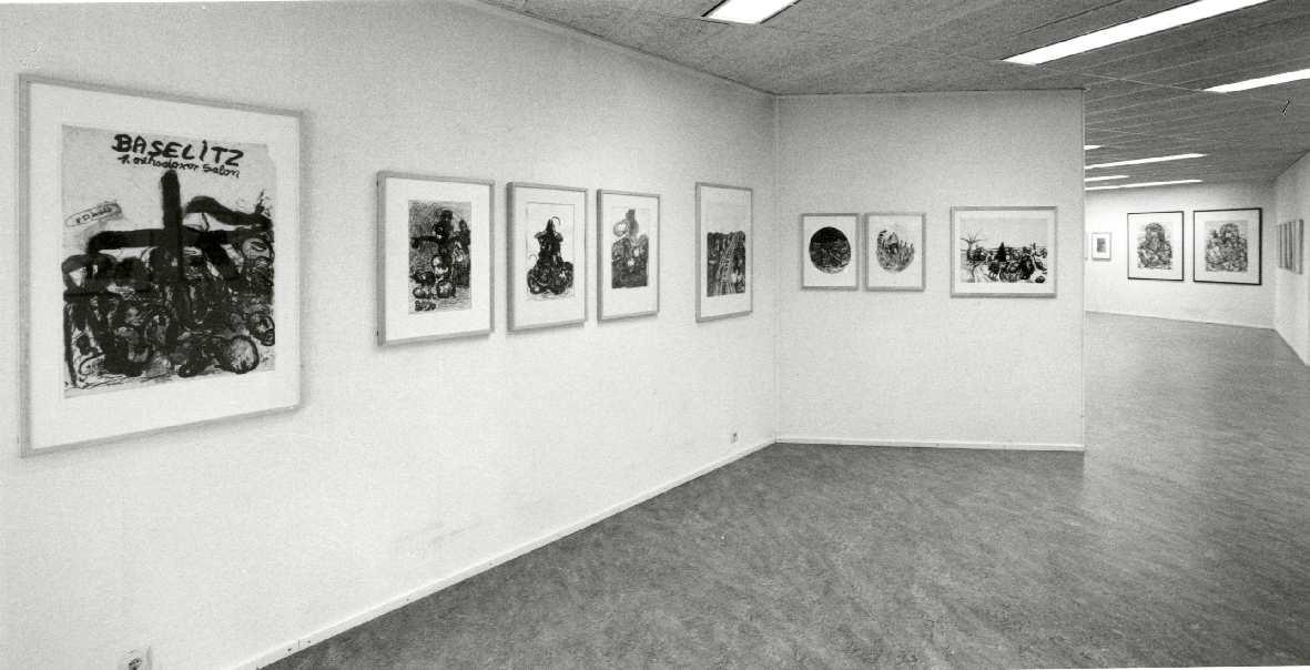 Georg Baselitz : Tekeningen 1958-1983