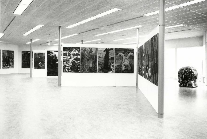Edward Dwurnik : Schilderijen, tekeningen en beelden