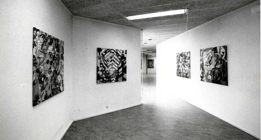 Christie van der Haak : La cause de notre joie : Schilderijen, 1984