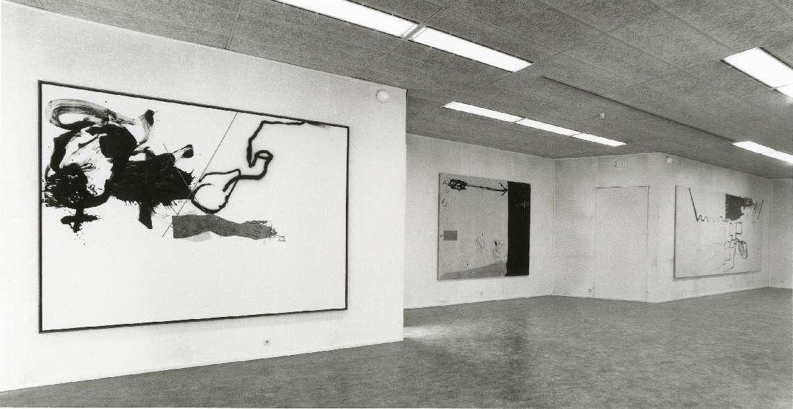 Antoni Tàpies : Schilderijen en beelden 1980-85