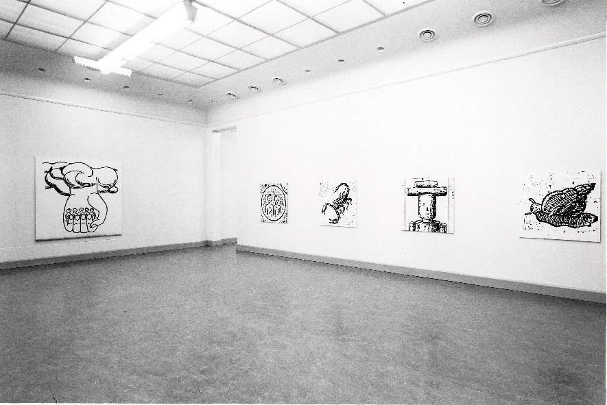 Walter Dahn : Schilderijen, beelden en tekeningen 1984-87