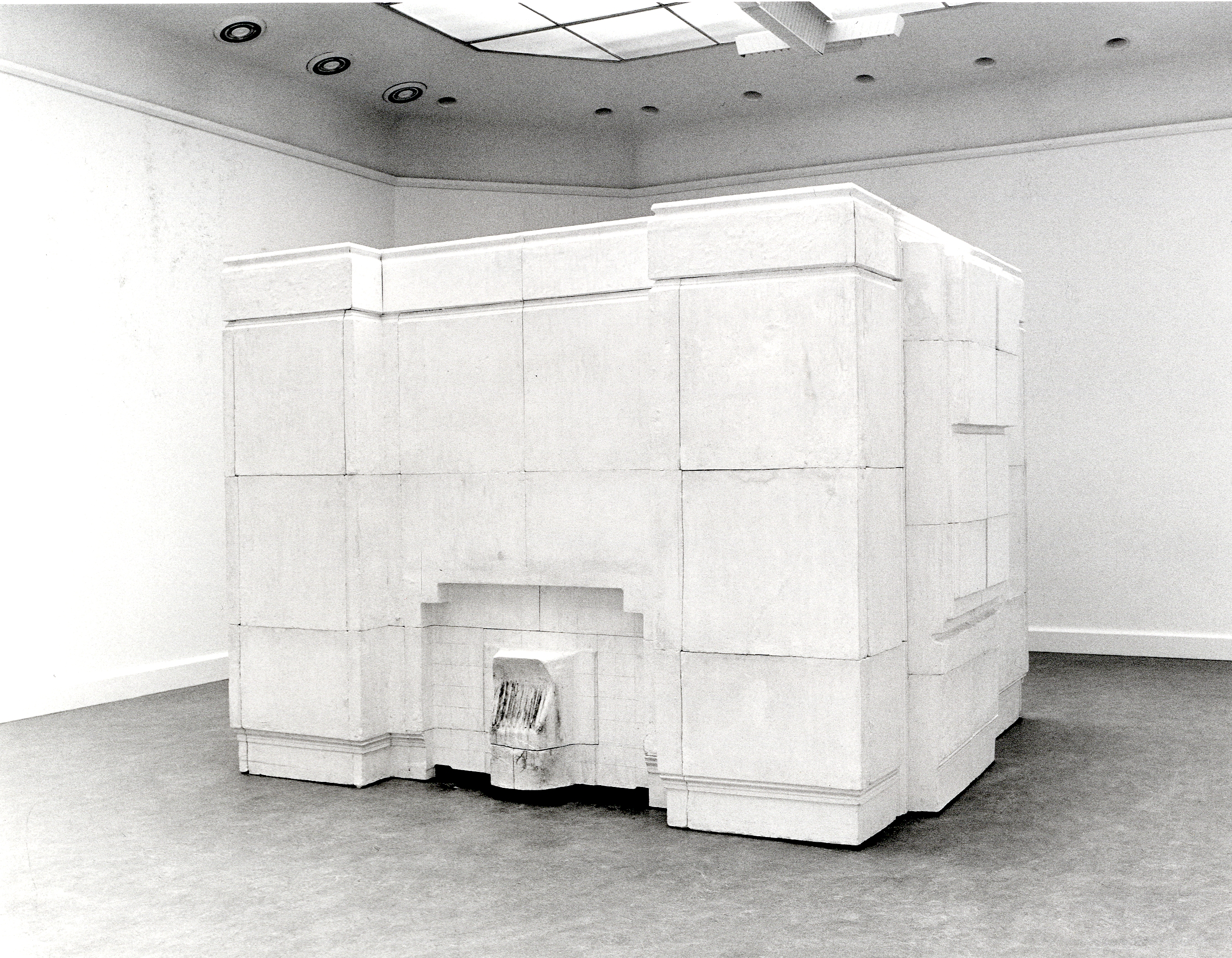 Rachel Whiteread : Sculpturen 1990-1992
