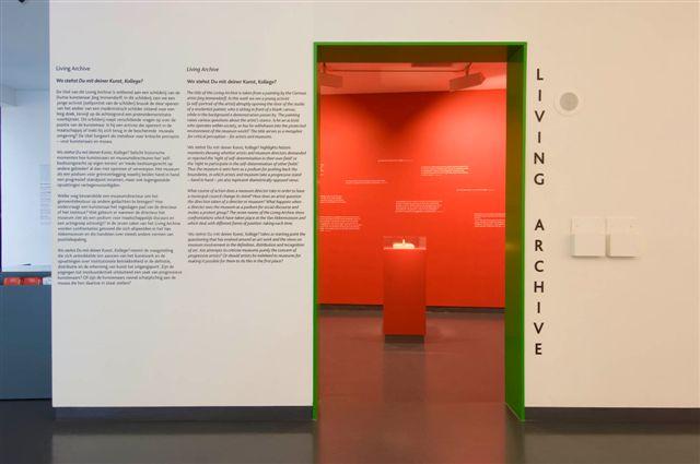 Living Archive: Wo stehst Du mit deiner Kunst, Kollege?