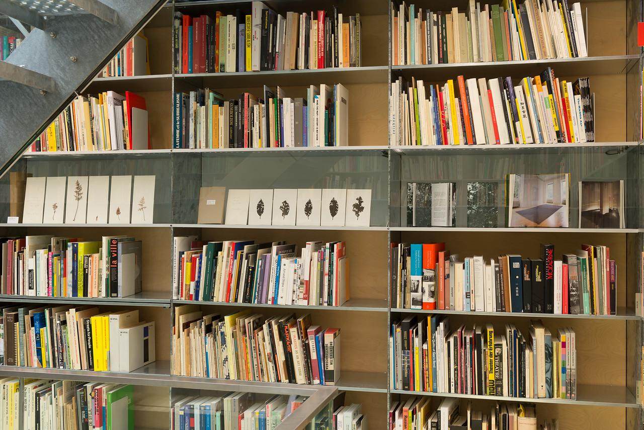 Bibliotheektentoonstellingen: herman de vries