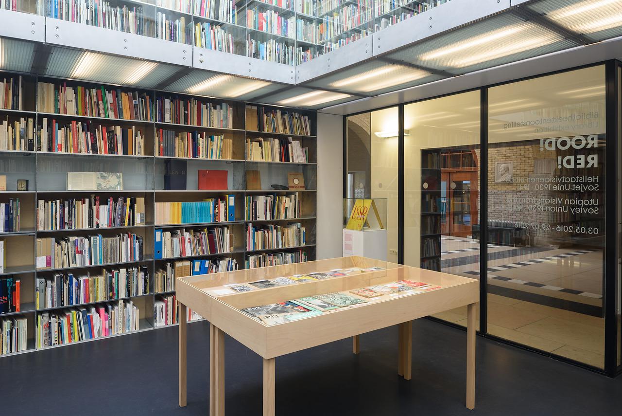 Bibliotheektentoonstellingen: ROOD!