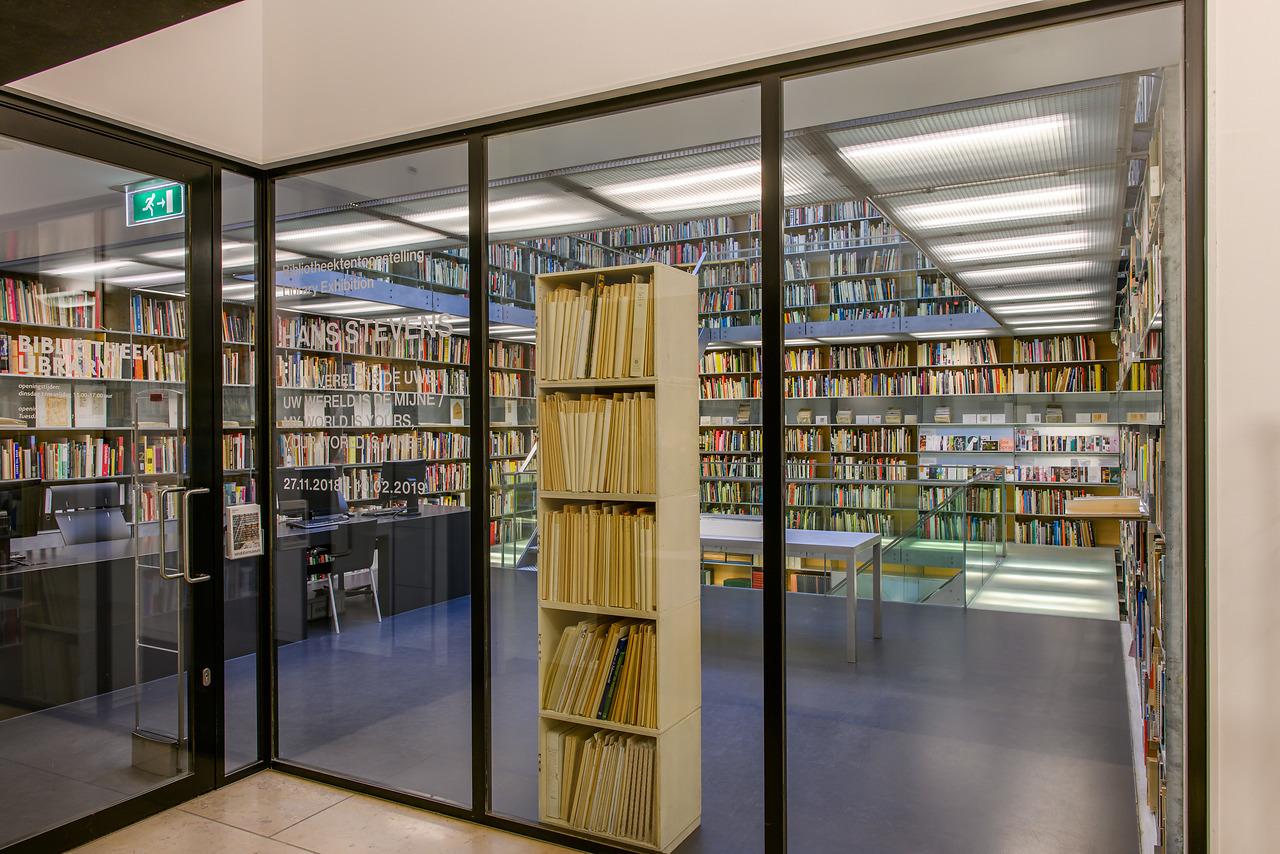 Bibliotheektentoonstellingen: Hans Stevens