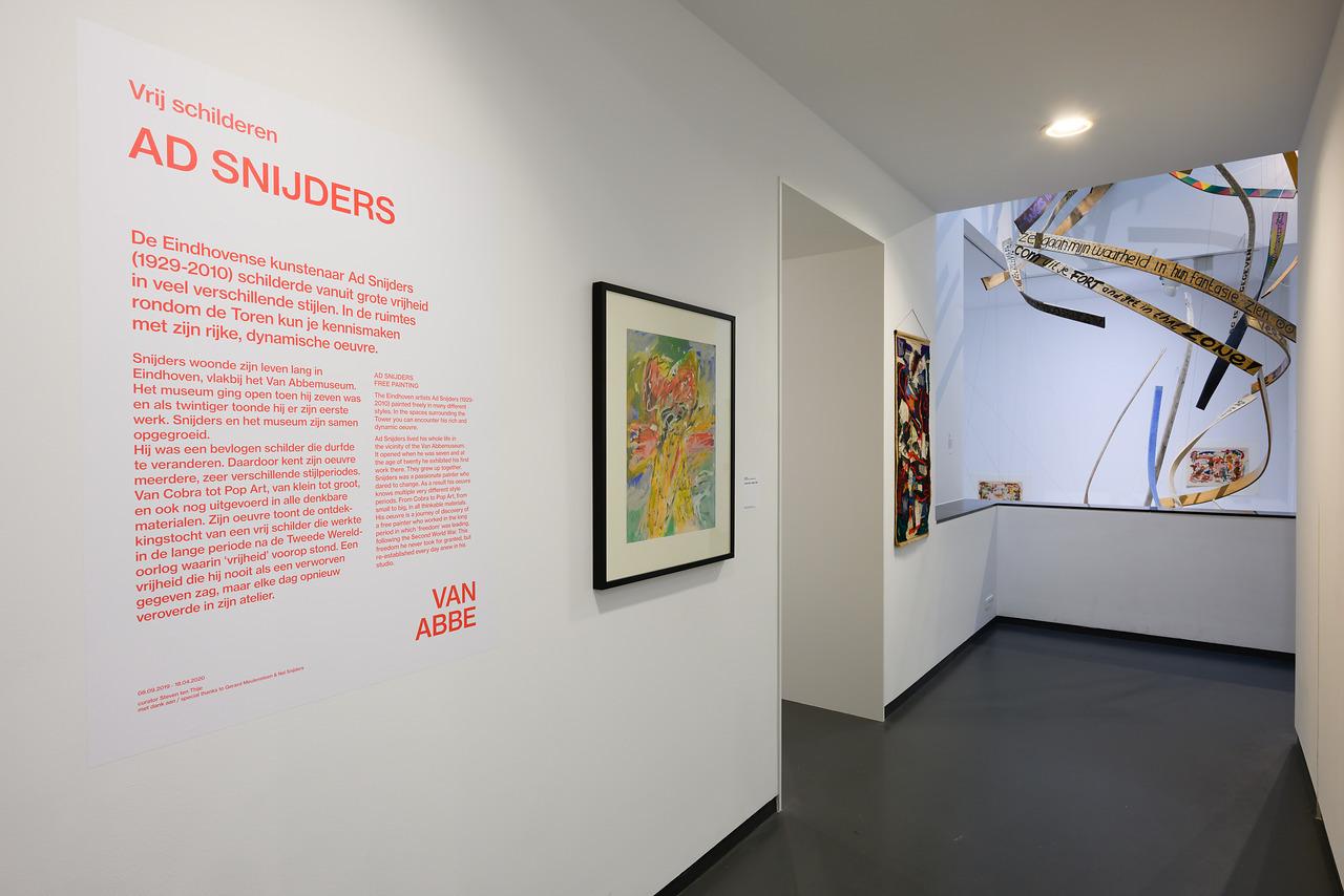 Ad Snijders : Vrij schilderen