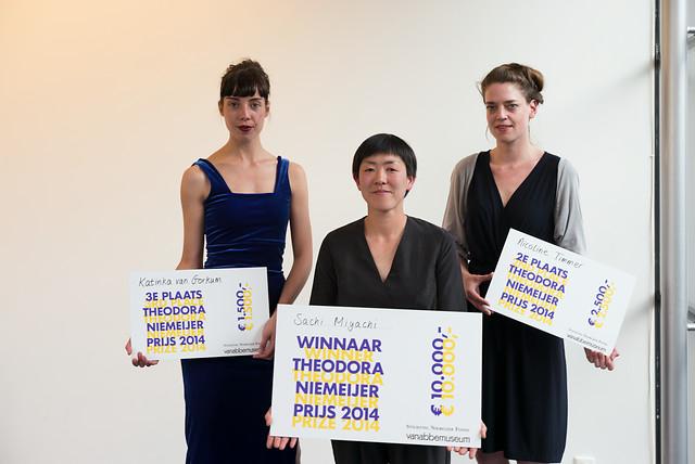 Theodora Niemeijer prijs voor jonge vrouwelijke kunstenaars