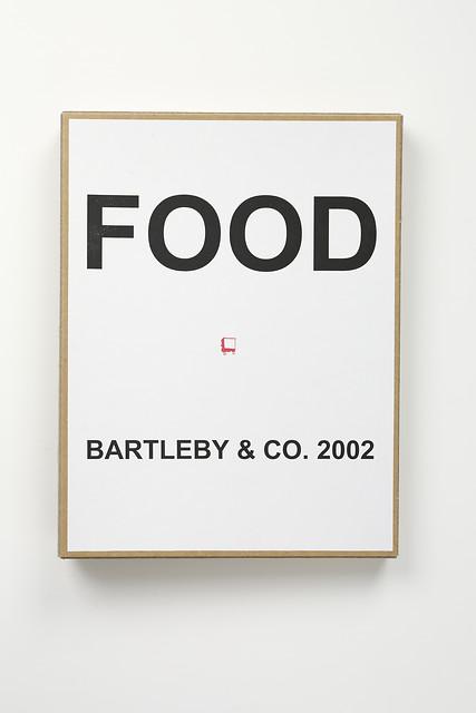 In de vitrines: Bartleby & Co
