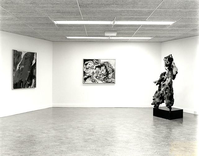 Uit de Eigen collectie : Cobra (Expérience) en Daniel Buren Peinture-Tableau 1965-1981