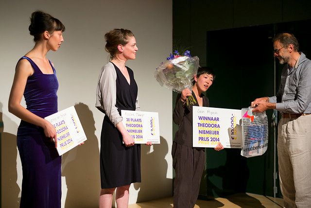 Sachi Miyachi winnaar Theodora Niemeijer prijs